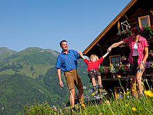 Family holidays in the mountains