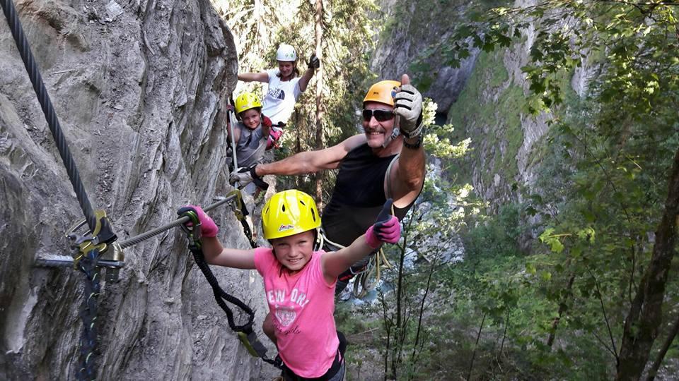 Klettersteigset Verleih Salzburg : Kitz klettersteig